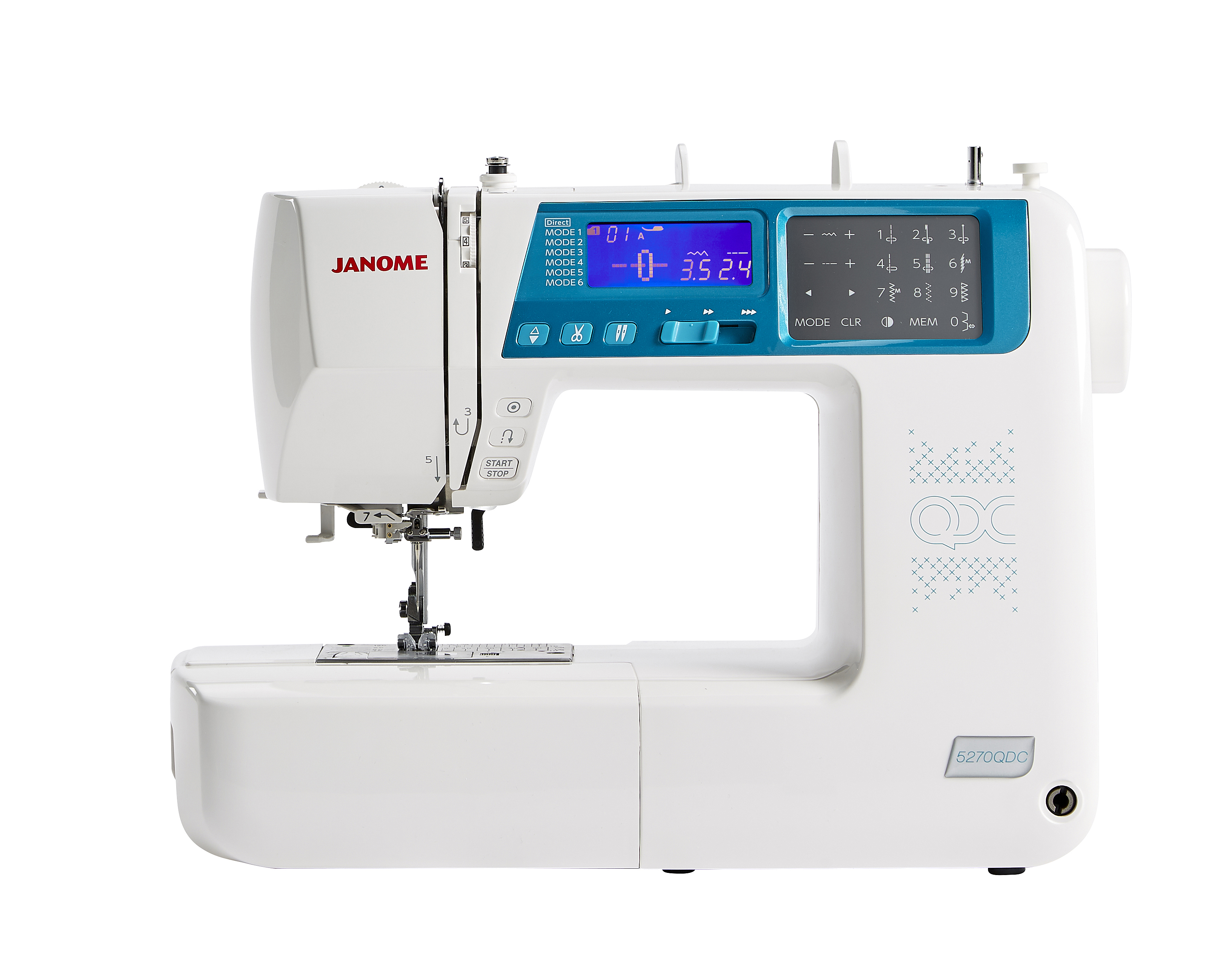 Janome 5270QDC Sewing Machine NEW