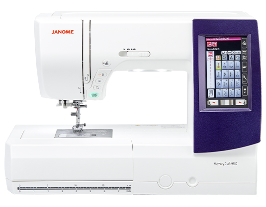 Janome MC9850 Sewing & Embroidery Machine NEW