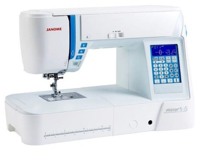 Janome atelier 5 Sewing Machine NEW